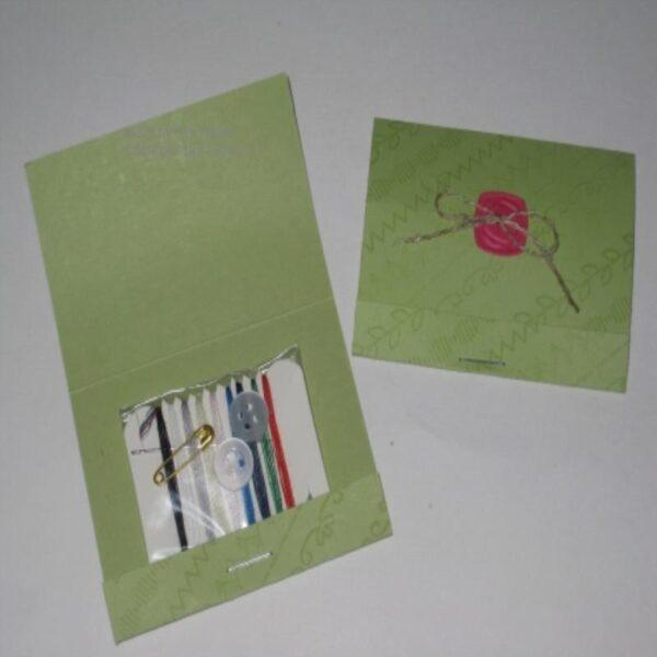 Sewing Kit Matchbook 100-Cs