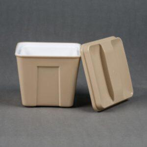 Square Ice Bucket Base Color 3qt 72-Cs